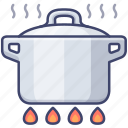 cook, cooking, boil, stew icon