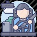 drive, driver, trip, travel