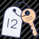 key, room, hotel, card