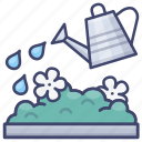 watering, can, plants, flowers icon