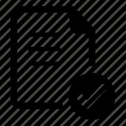 check, grid, list, memo, noun, project icon
