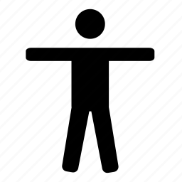 human, man, noun, project, star icon