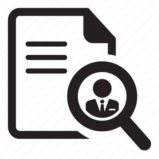 find, grid, job, noun, project, resume, search icon