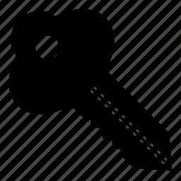 door, grid, key, lock, noun, open, project icon