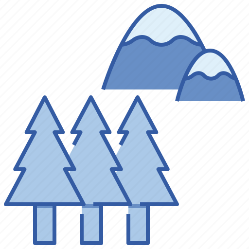 forest, nature, travel, tree icon