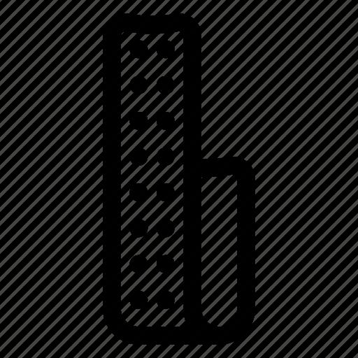 led, light, strip icon