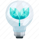 ecology, electricity, electronics, energy, leaf, plant, save icon