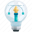 creative, creativity, design, graphic, idea, light, pencil icon