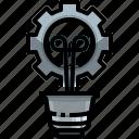 bulb, electricity, electronics, idea, illumination, invention, light