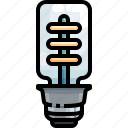 bulb, electricity, electronics, idea, invention, light, technology icon