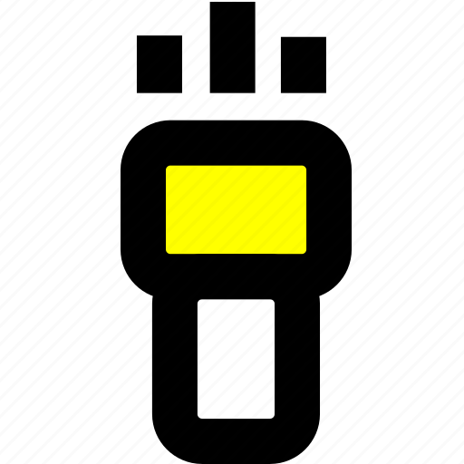 flashlight, guideline, light icon