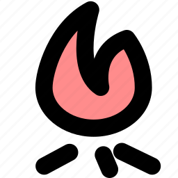 fire, hot, popular icon