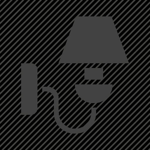 interior, lamp, light, sconces, wall icon