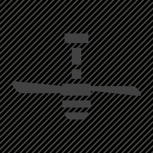 ceiling, fan, interior, lamp icon