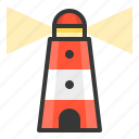 glow, light, lighthouse, of, shine, source icon