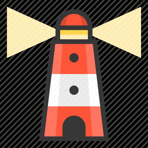 glow, light, lighthouse, of, shine, source icon