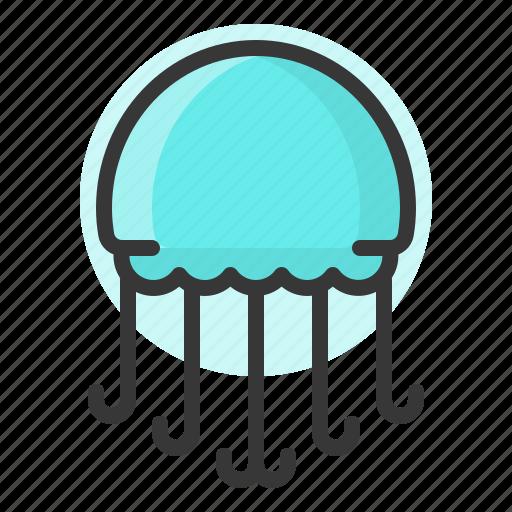glow, jelly fish, light, of, plankton, shine, source icon