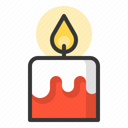 candle, glow, light, of, shine, source icon