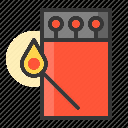 glow, light, match, of, shine, source icon