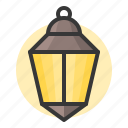 glow, lamp, light, of, ramadan lamp, shine, source icon