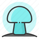 fungi, fungus, glow, light, mushroom, of, shine, source icon