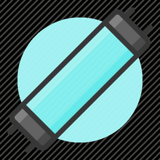 fluorescent, glow, light, of, shine, source, tube, uv lamp icon