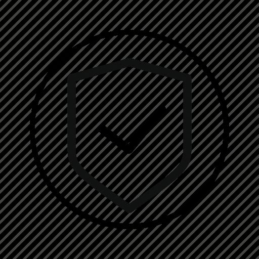access, confirm, guarantee, ok, protect, safe, secure, shield, verified icon