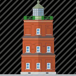 beacon, brick, building, kap arkona lighthouse, lighthouse, nautical, safety icon