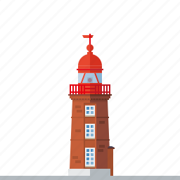 beacon, bremerhaven, germany, harbor, landmark, lighthouse, nautical icon