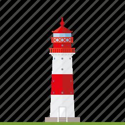 baltic sea, beacon, falshoeft, germany, landmark, lighthouse, nautical icon
