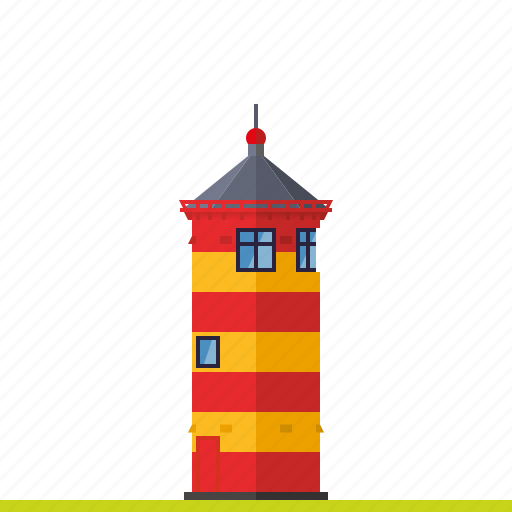 beacon, germany, landmark, lighthouse, nautical, north sea, pilsum icon