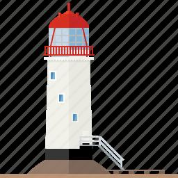 beacon, great britain, landmark, lighthouse, liverpool, nautical, talacre icon