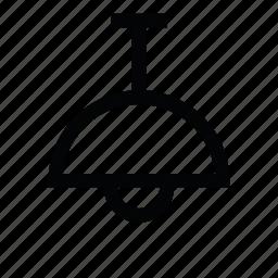 lamp, light, light bulb, lighting, pendant lamp icon