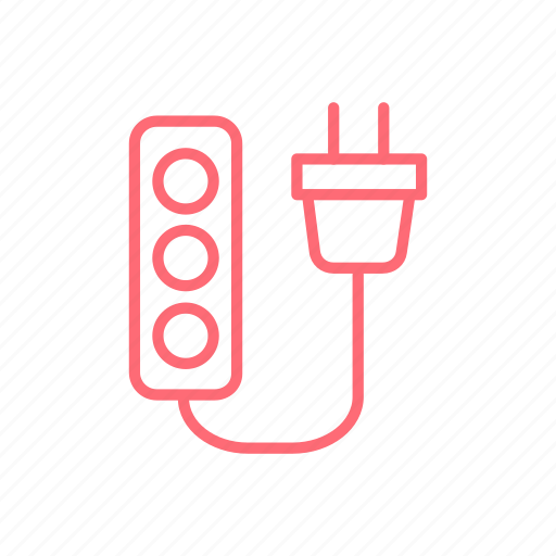 light, lighting, outlet, power socket, smart lighting, socket icon