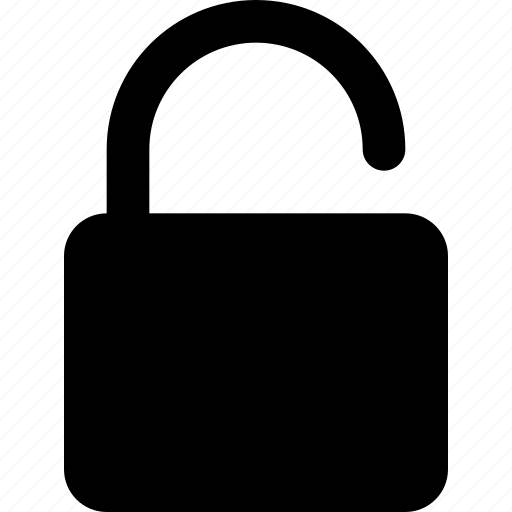 breach, lock, password, unlocked, unsafe, unsecure icon