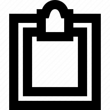 clipboard, copy, document, paper, paste icon