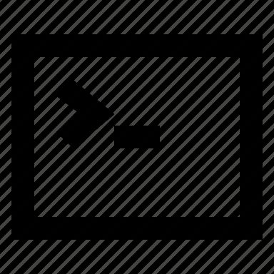 admin, bash, console, terminal icon