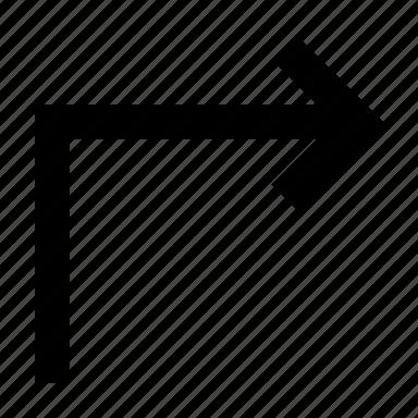 arrow, forward, to icon