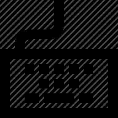 keyboard, type icon