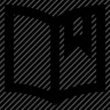 bookmark, favorite, read icon