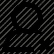 account, error, man, person, profile, user icon