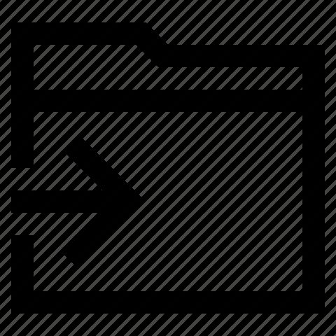 folder, to icon