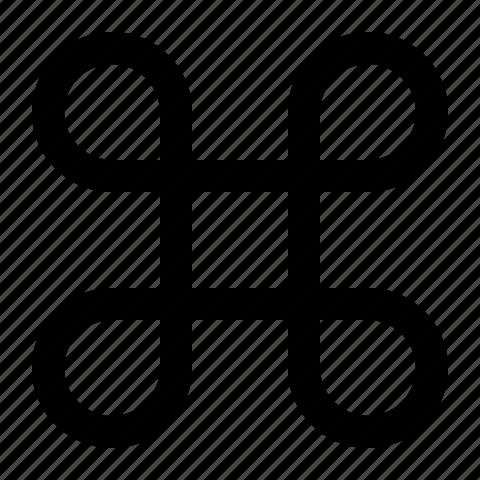 apple, command, key, modifier icon