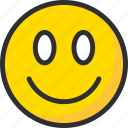 face, feedback, like, rate, rating, smile icon
