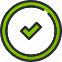 check, feedback, like, mark, rate, rating, tick icon