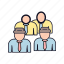agent, agent-group, community, friends, group, team, users icon