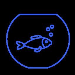 animals, aquarium, desire, fauna, fish, golden fish, wish icon