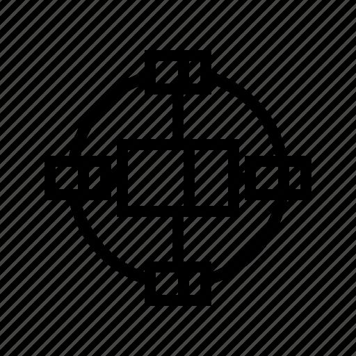 block, blockchain, crypto, cryptocurrency, internet, network, technology icon