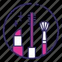 brush, makeup, pomade icon