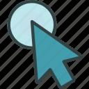 clic, cursor, mouse, move, pointer, tap icon